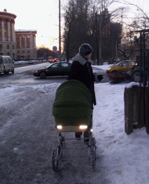 СОП-ы на прогулочной коляске