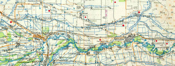 Где стояла пасека (карта)