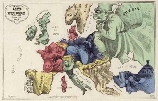 Европа в 1870