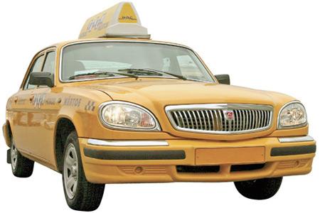 «Волга» такси