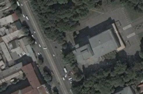 Центр Владикавказа. Осетинский театр и ГМТ