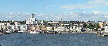 Панорама Хельсинки (фрагмент); из Википедии