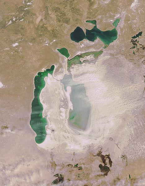 Аральское море в апреле