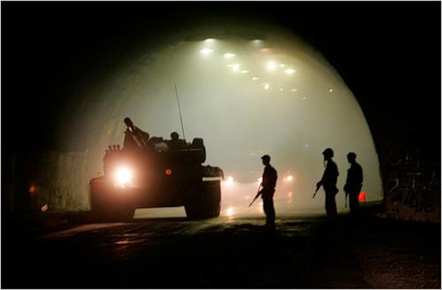 В Рокском тоннеле