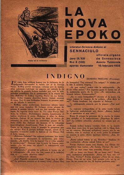 La Nova Epoko, supozeble la lasta eldonita en Germanio
