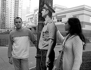 Муляж постового в СПб. Фото Андрея Кошелева