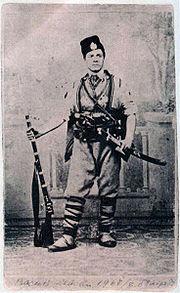 Васил Левски, во Втором болгарском легионе в Сербии