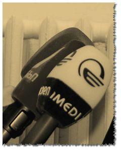 Микрофоны «Имеди». Кроп фотографии Зары Валиевой (zarava.livejournal.com)
