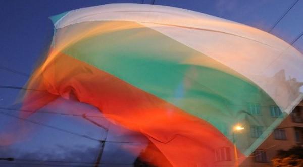 Феерический болгарский флаг