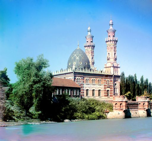 Мечеть в начале XX века
