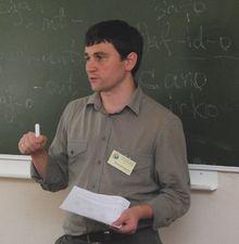 Я, доска, мел и эсперанто. Фестиваль языков в мае 2010 года