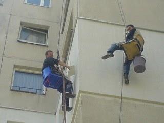 Болгарские альпинисты за работой