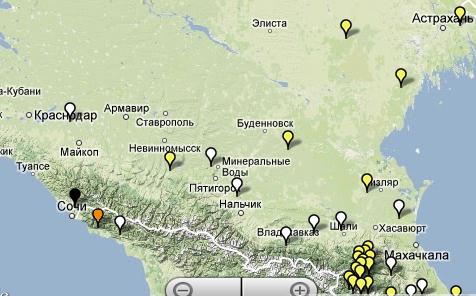 Языки Северного Кавказа в Атласе ЮНЕСКО