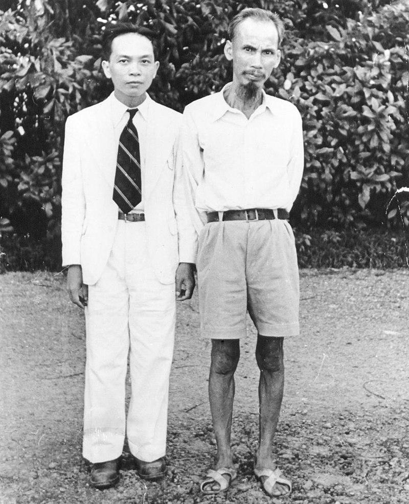Во Нгуен Зиап и Хо Ши Мин